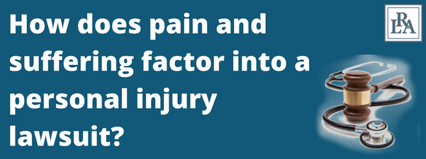 pain and suffering Robert armstrong personal injury attorney north carolina