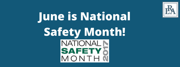 national safety month Robert armstrong personal injury attorney north carolina