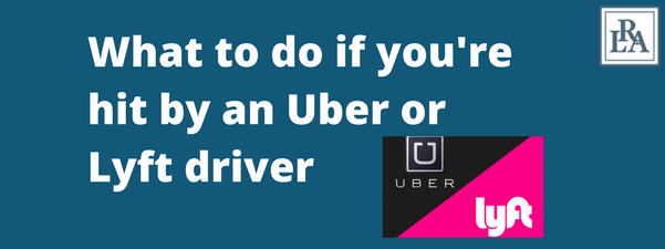 hit by uber or lyft driver Robert armstrong personal injury attorney north carolina