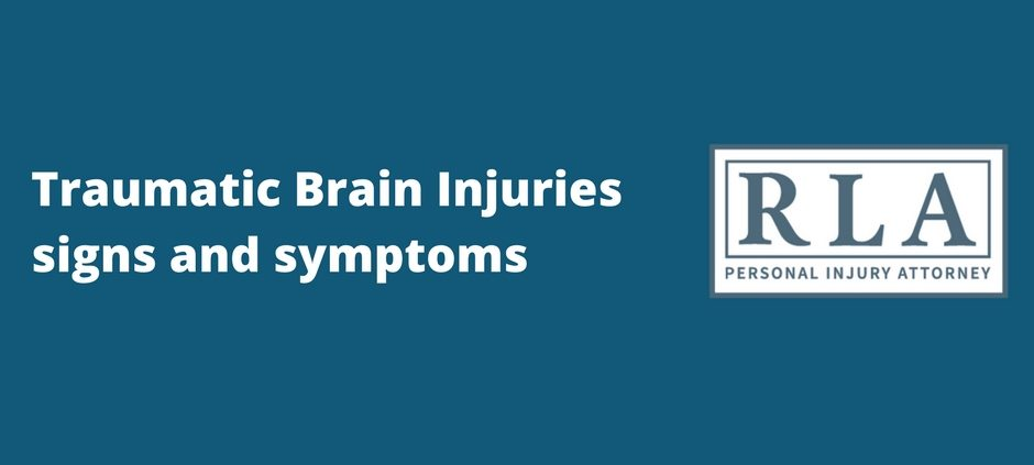 traumatic brain injury signs and symptoms Robert armstrong personal injury attorney north carolina (1)