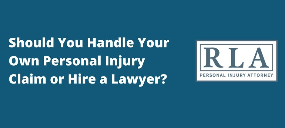 Should You Handle Your Own Personal Injury Claim or Hire a Lawyer? Robert armstrong personal injury attorney north carolina