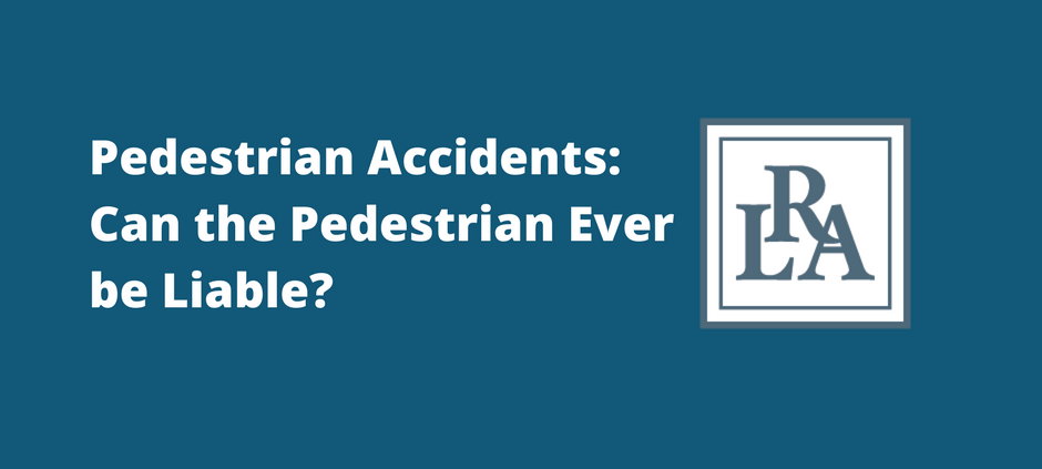 pedestrian accidents Robert armstrong personal injury attorney north carolina